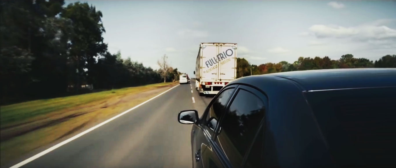 "Samsung's ""Invisible"" Safety Truck"