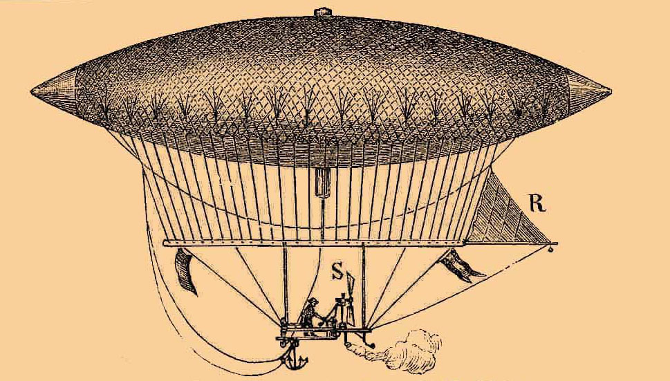Ye Olde Airship of Yesteryear