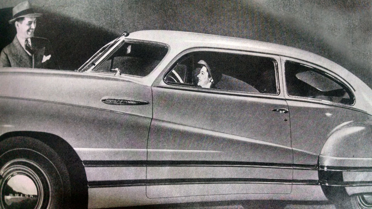 GM Buick circa 1941, Saturday Evening Post, 1941