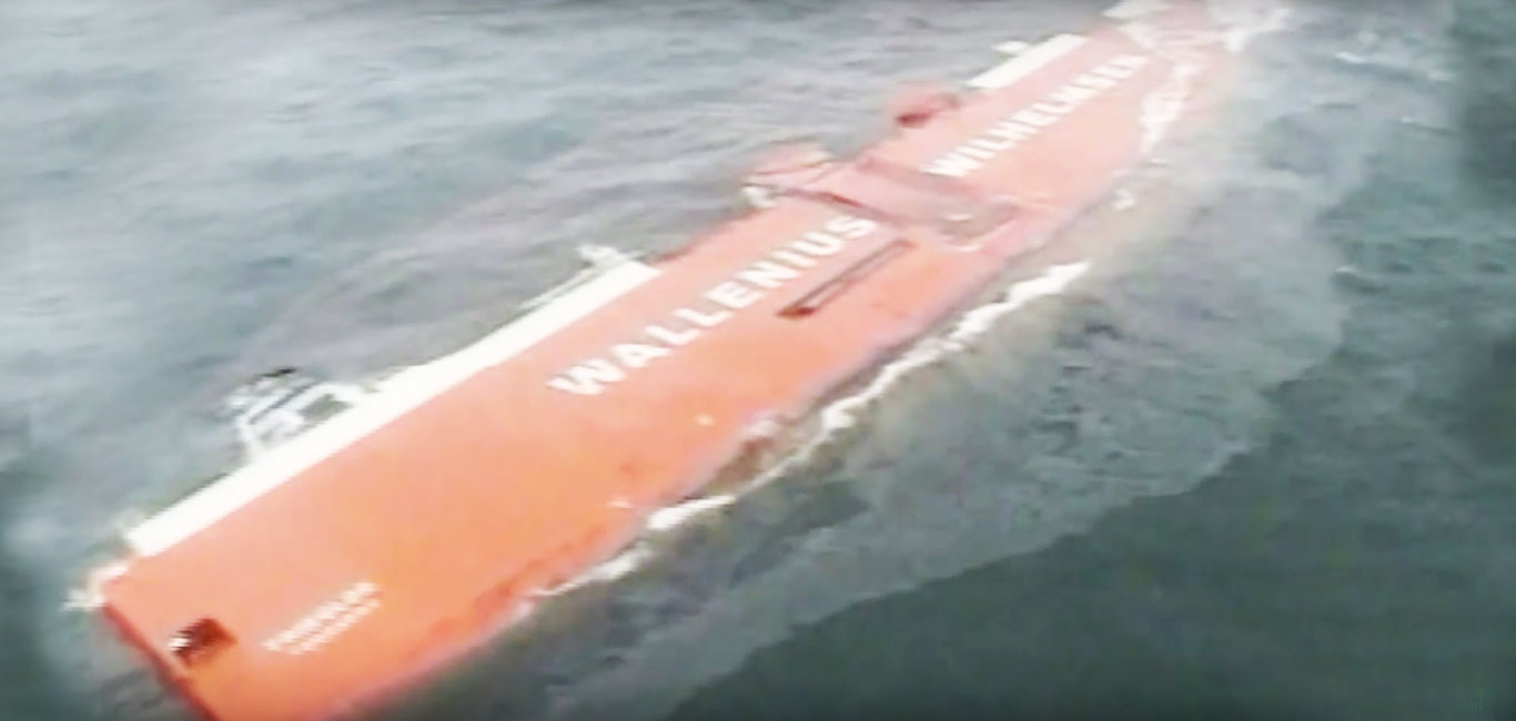 MV Tricolor Sinks in English Channel
