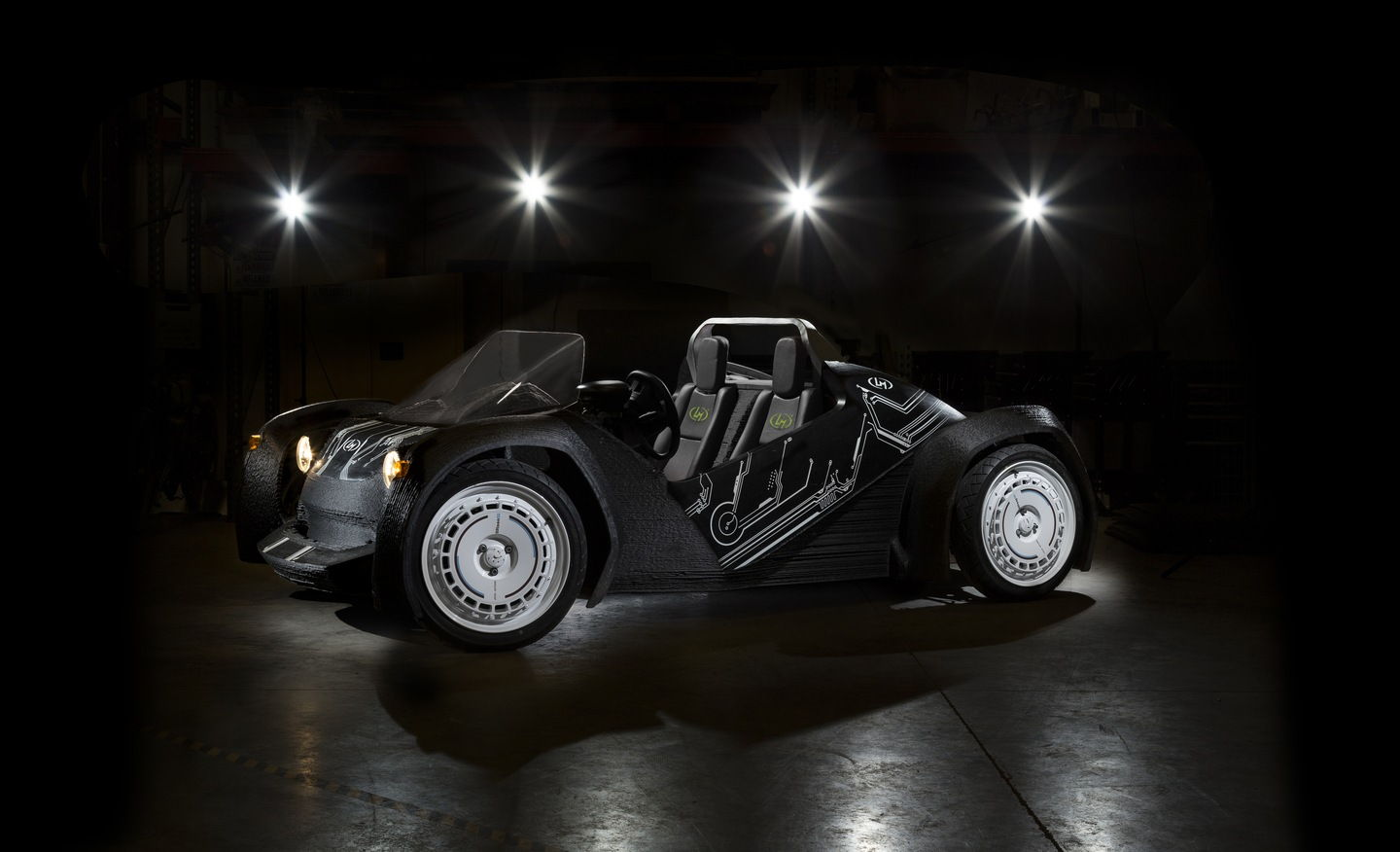 The Strati - 3D Printed Car