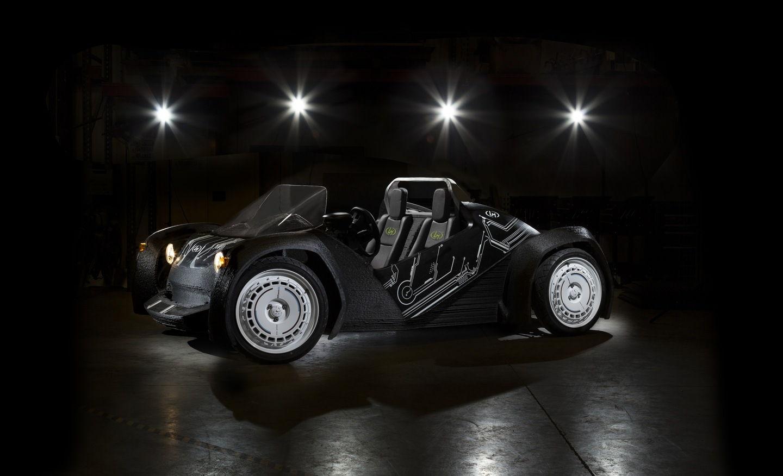 The Strati - 3D Printed Car