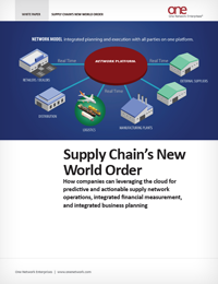Supply Chain's New World Order