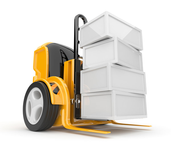 Will the warehouse be staffed with connectedand intelligent forklifts in future?