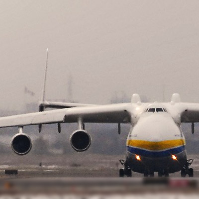 The World's Largest Cargo Plane - can swallow a locomotive...