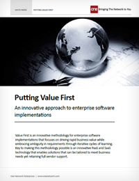 Value First: Best Practices in Software Implementation