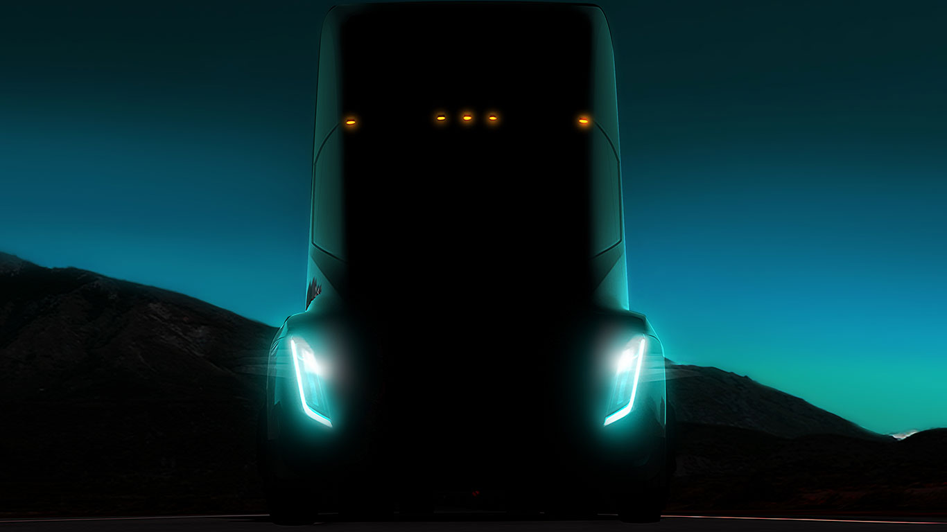 The New Tesla Semi Electric Truck