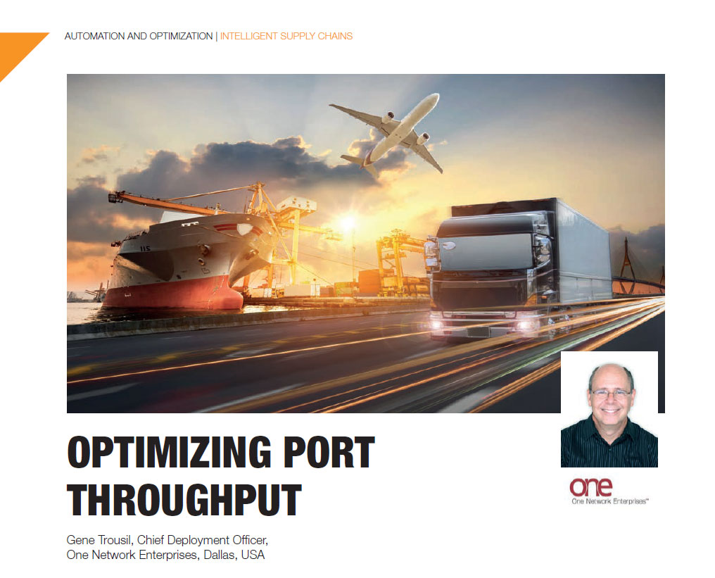 Global Trade: Optimizing Port Throughput with Real Time Networks