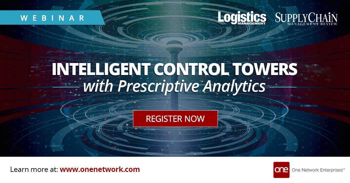 Intelligent Control Towers - using artificial intelligence in supply chain management