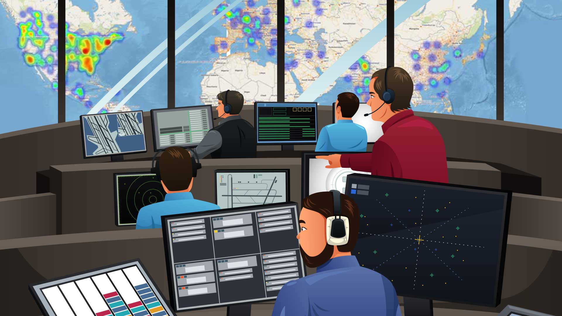 Supply Chain Control Towers on Real Time Multiparty Networks