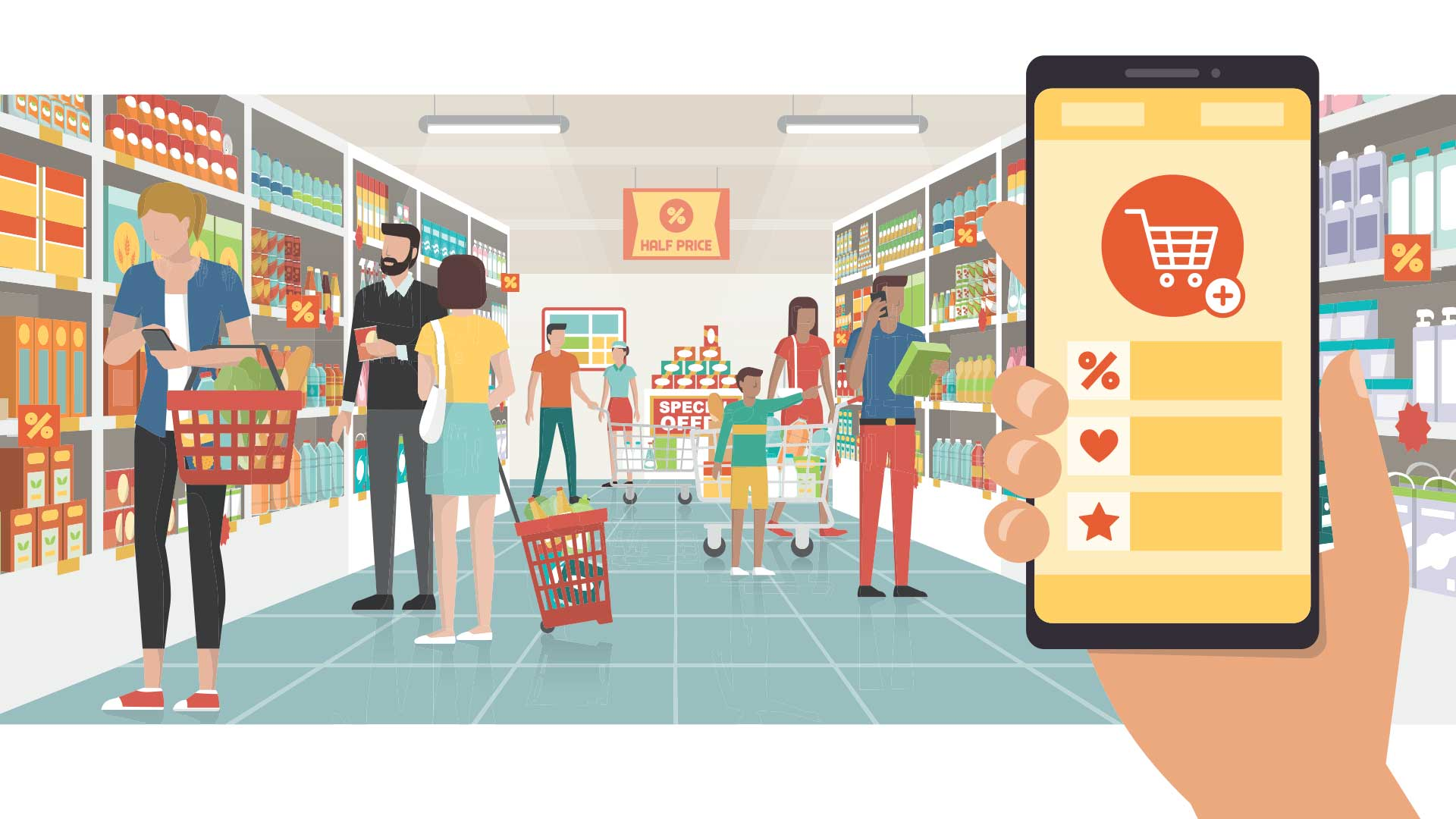 Online and Ecommerce Grocery and Food