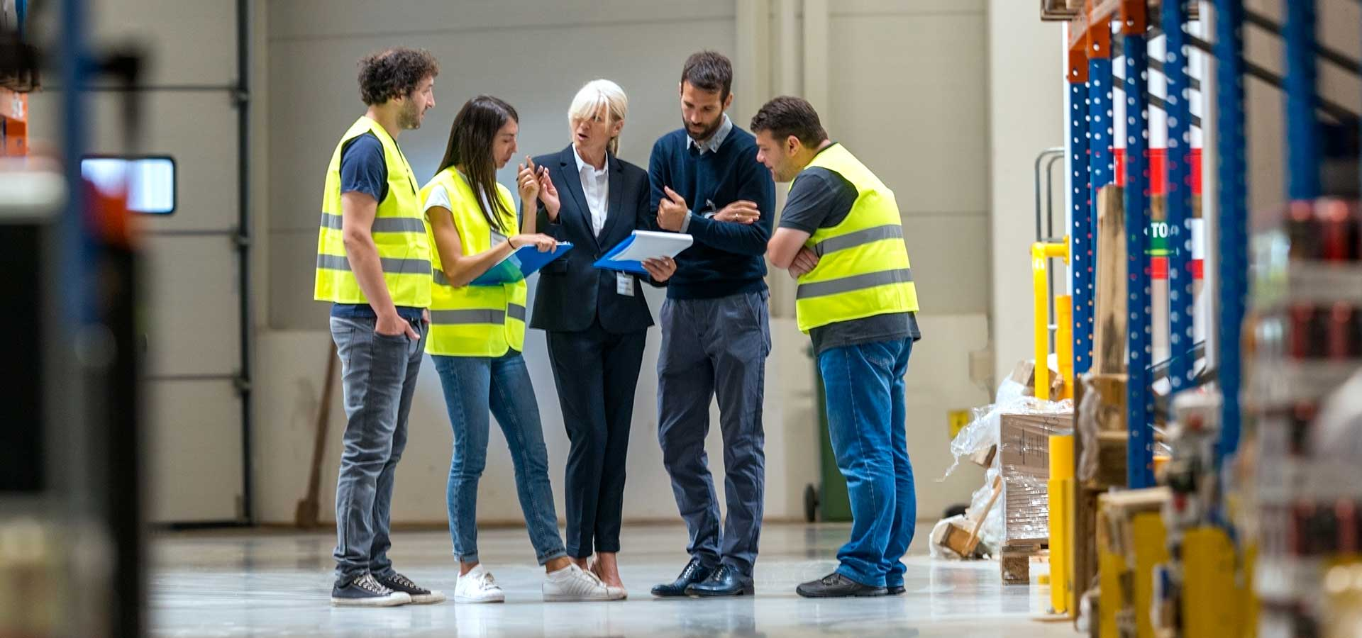 Warehouse Collaboration for Improving Processes and Efficiency