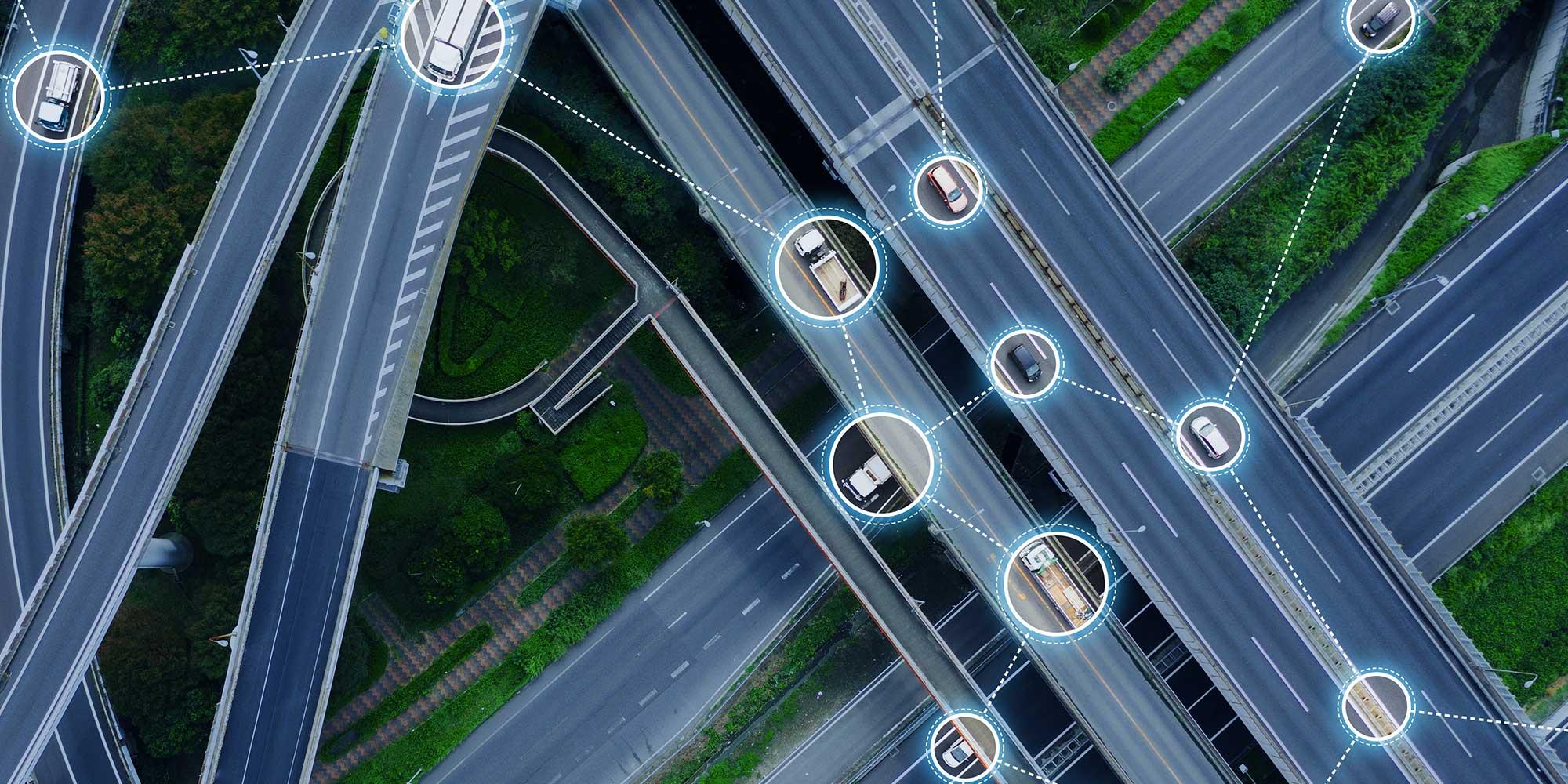 Autonomous Logistics on a Logistics Network