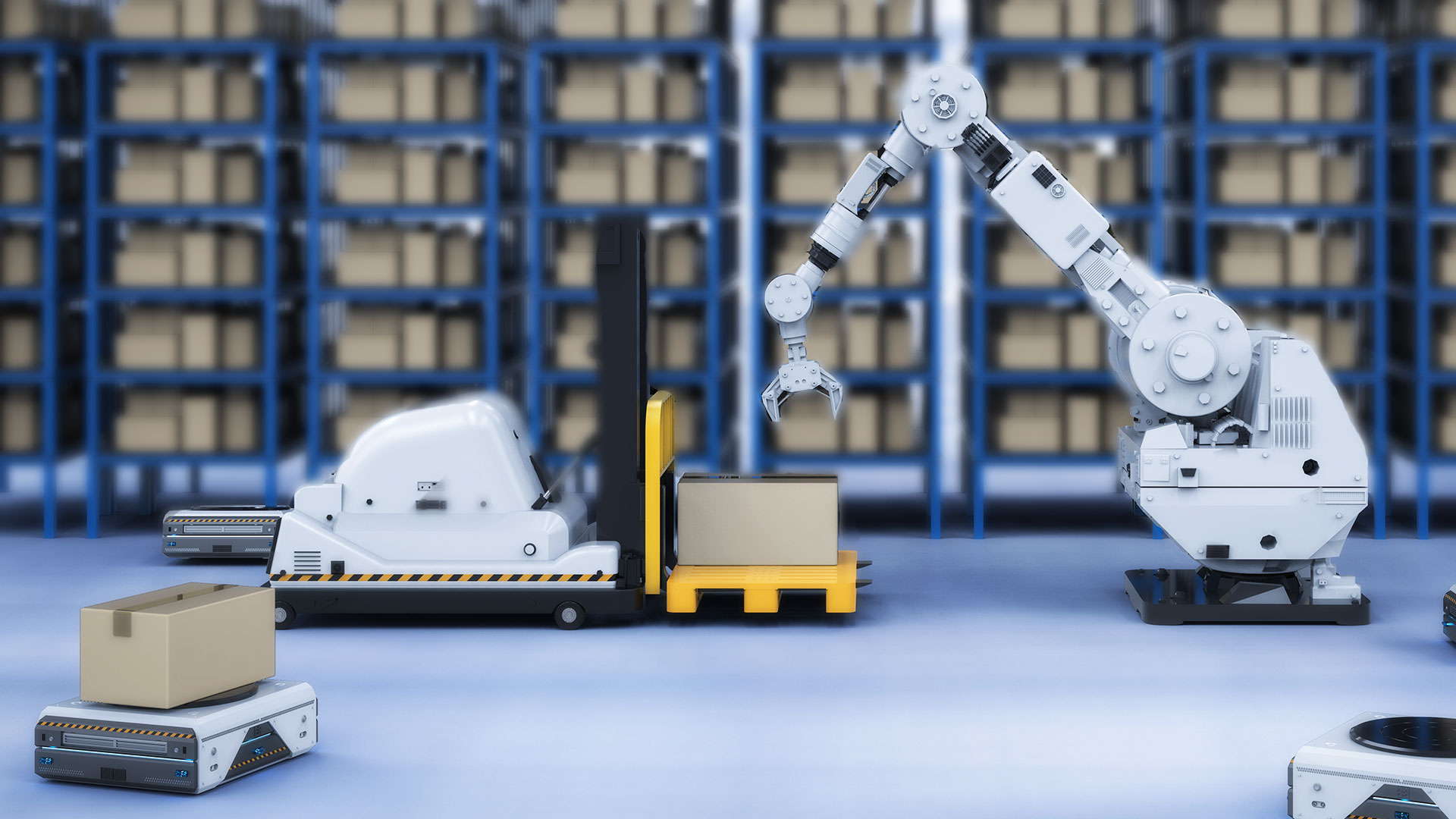 Artificial Intelligence, Robotics, Automation in the Supply Chain