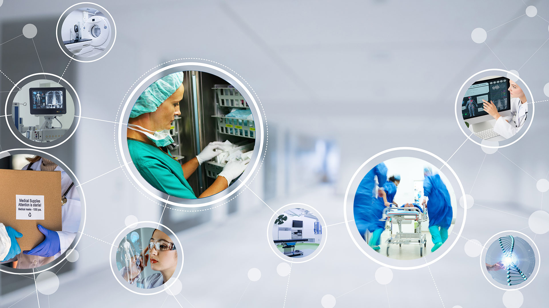 Resilient Healthcare and Hospital Supply Chain Networks