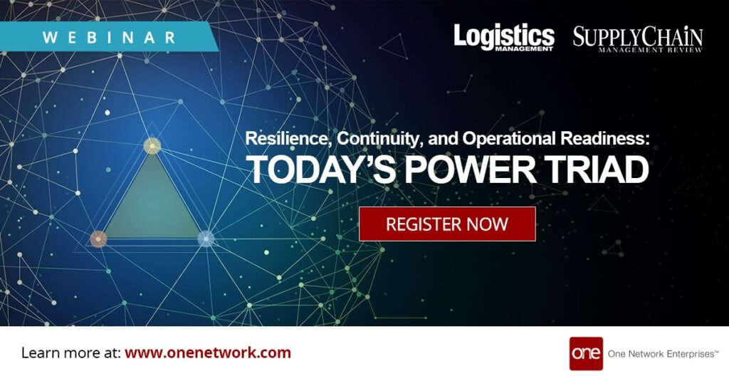 Webinar: Building Resilience, Continuity and Operational Readiness in Your Supply Chain